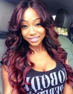 red hair colors for black women burgundy hair color hair color ideas dat weave