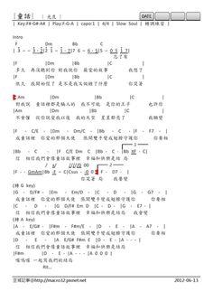 http://i1.wp.com/www.jitaba.cn/jitapu/022013/4891.html | 吉他譜 | Pinterest
