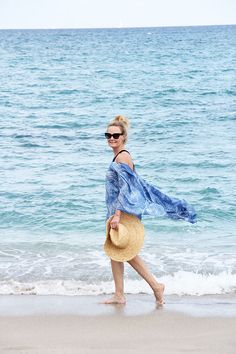 Beach Poncho http://