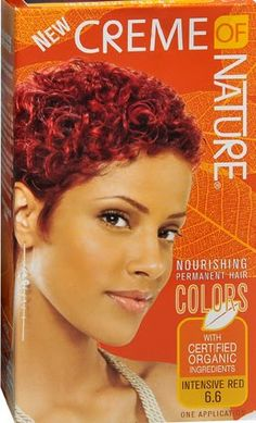 Red Hair Colors For Black Women Burgundy Hair Color