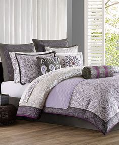 1000 Images About Purple Bedding On Pinterest Comforter Sets Comforter And Purple Comforter