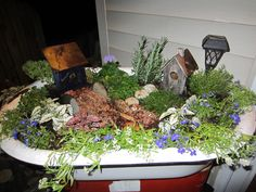 Bathtub Flower Beds On Pinterest Old Bathtub Bathtubs