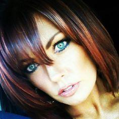 Copper highlights dark brown hair image collections hair dark hair copper highlights gallery hair extension hair black hair copper highlights the best black hair pmusecretfo Images