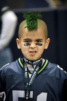 Seahawks Face Paint Makeup Seahawks Nfl Makeup