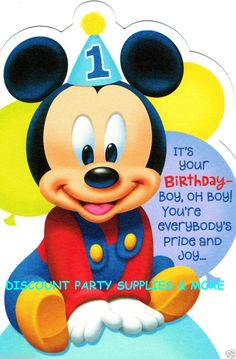 1000 Images About Mickey Mouse 1st Bday On Pinterest Mickey Mouse 1st Birthday Baby Mickey