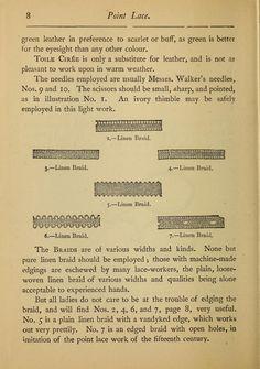 madame goubaud s point lace book instructions dantel anglez teknikleri ve örnekleri
