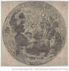 La Luna - Vintage Map of the Moon   Etsy Marketplace ...