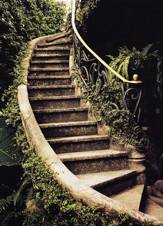 Garden stair More