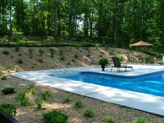 Pool ideas on Pinterest | Pools, Retaining Walls and Pool ... on Uphill Backyard Ideas  id=96935
