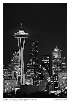 1000+ images about Seattle Skylines on Pinterest   Seattle ...