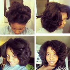 how to do a flexi rod set on short natural hair mma style and short hairstyles