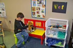 Pretend Play Corner - Pet Shop and Pets Corner. Area ...