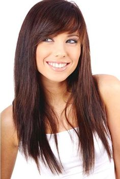 1000 ideas about long hairstyles with bangs on pinterest hairstyles with bangs long