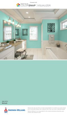 refresh sw 6751 sherwin williams room at home on benjamin moore color chart visualizer id=56505