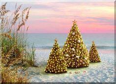 Christmas At The Beach On Pinterest Nautical Christmas