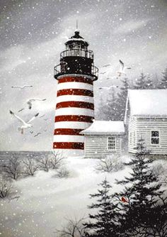 1000 Images About Winter Art Scenes On Pinterest