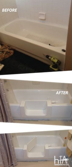 Safeway Step Accessible Tub Conversion Httpageinplace