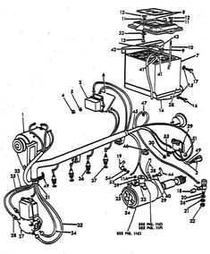 electrical schematic for 12 v ford tractor 8n  Google Search | 8n Ford Tractor | Pinterest