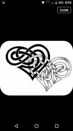 Infinity Love Tattoo Designs Celtic Faithful Heart