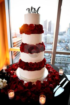 Wedding Cake with Re