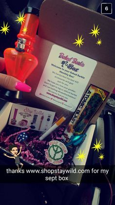 The Baked Barbie Box Monthly 420 Subscription Box For