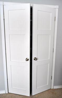 From Keep Calm And Decorate Replacing Sliding Closet Doors With Regular