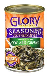 Best Glory Seasoned Collard Greens Recipe on Pinterest