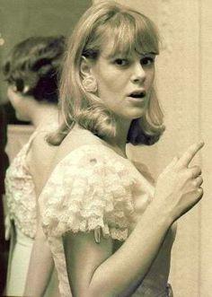 Young Camilla Parker Bowles   ... posh - the young Camilla ...