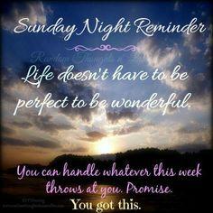 Sunday night and Night on Pinterest