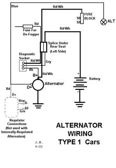 1973 Super Beetle Wiring Diagram | 1973 Super Beetle Fuse