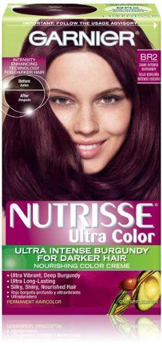 Garnier Burgundy Hair Color