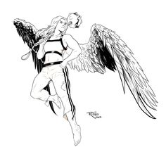Hawkgirl Coloring Pages 12 Jpg 736 1054 Lineart Hawkworld