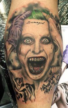 Chronic Ink Tattoo - Toronto Tattoo Joker half sleeve ...