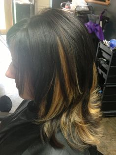 1000 Images About Hair Color On Pinterest Peekaboo