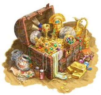Image result for pile of treasure