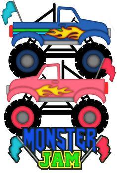 Free SVG File Download - Monster Truck | Cricut / SVG ...