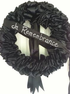 Image result for MOURNING WREATH
