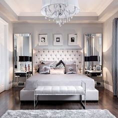 A bedroom fit for a