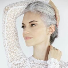 women are opting to go grey in their 30 s works provided the cut is on trend and modern