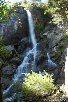 Peppermint Creek Falls in Sequoia National Forest | Wild ...