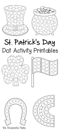 Apple Dot Painting (Dot Marker Printable) - The ...