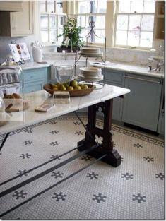 kitchen floor tile f