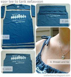 T-Shirt to Tank: A T