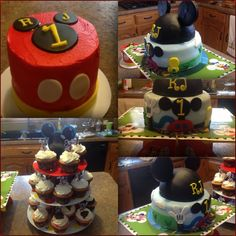 Mickey Mouse Clubhouse Smash Cake By Publix 1st Birthday