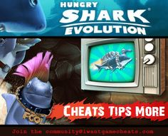 Hungry Shark Evolution Treasure Maps and Locations of the