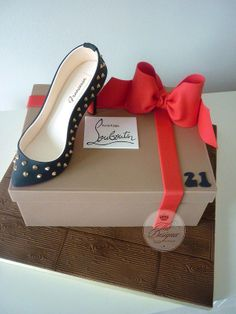 Louboutin Shoe Cake By Designer Cakes By April Via Flickr