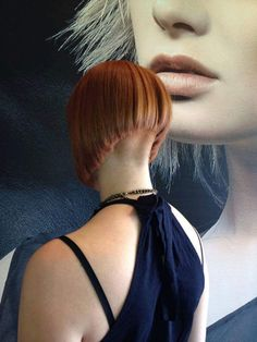 1000 Ideas About Shaved Nape On Pinterest Haircuts