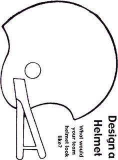 Vector About Football Helmet Stencil Item  Vector Magz Com Library