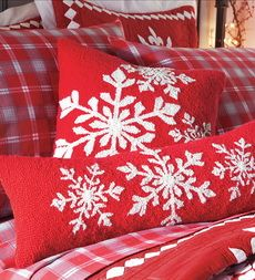 Christmas bedding (I