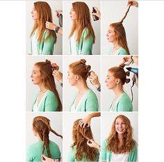 1000 ideas about no heat waves on pinterest no heat heatless curls overnight and heatless curls